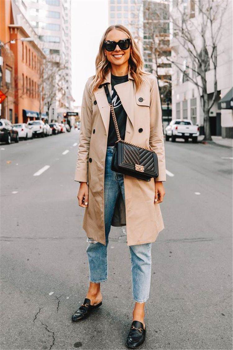 50 Stunning Fall Outfits You Must Update Your Wardrobe Right Now Women Fashion Lifestyle Blog Shinecoco Com Fashion Jackson Trench Coat Outfit Everyday Casual Outfits [ 1125 x 750 Pixel ]