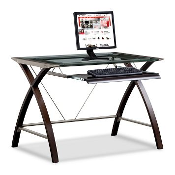 Orion Home Office Computer Desk With Keyboard Tray Value City