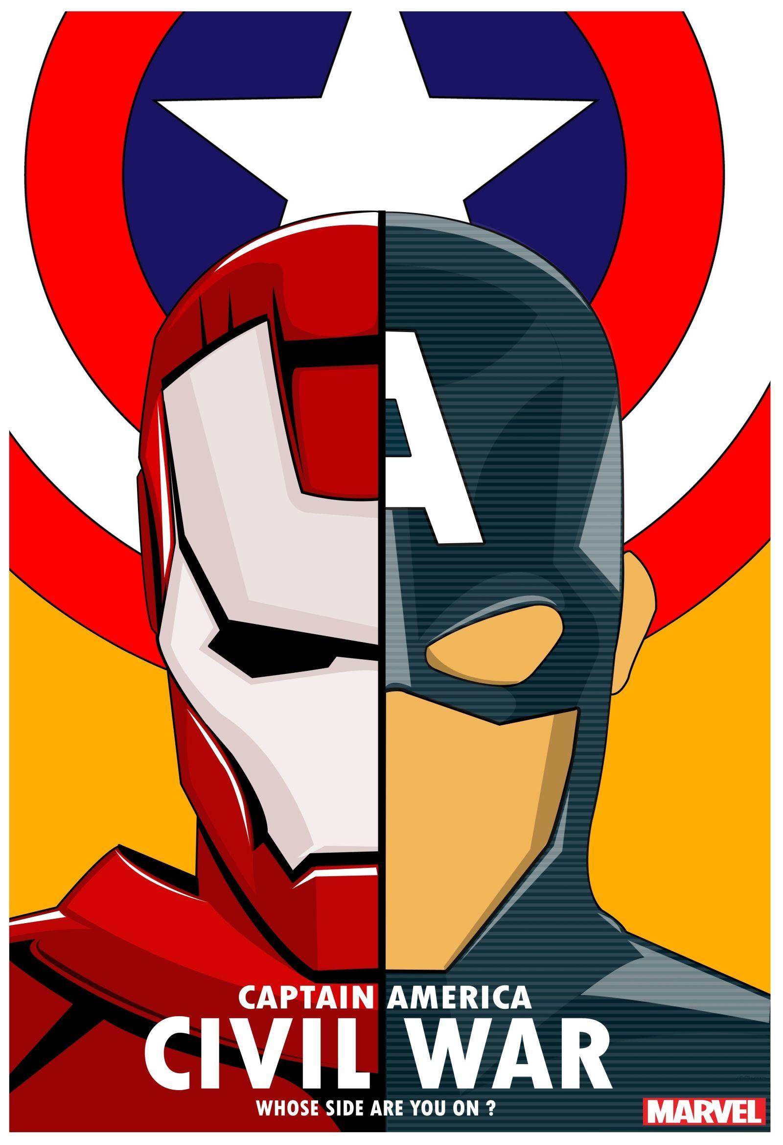Civil War | Pinterest | Capitán américa, América y Cómics