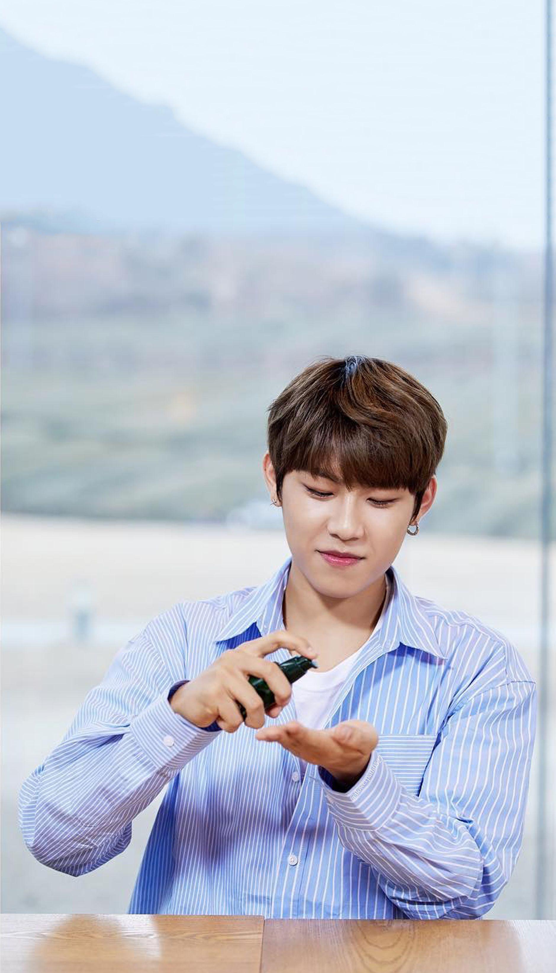 Wanna One X Innisfree Wanna One Go In Jeju Park Woojin Wallpaper Selebritas Suami Masa Depan Suami