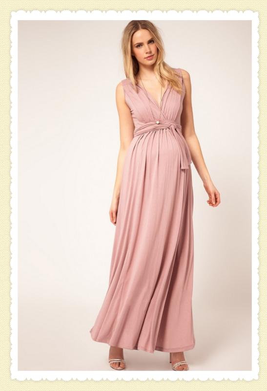 Vestido de festa para gestantes. - Blog Cantinho da Mamãe ...