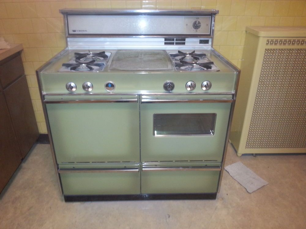 vintage tappan fabulos 400 1960s gas range parents 1960s and crown stove range vintage gas double oven