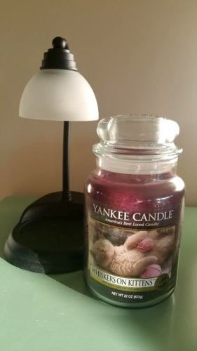 Yankee-Candle-WHISKERS-ON-KITTENS-My-Favorite-Things-22-oz-jar-Used-in-a-Warmer
