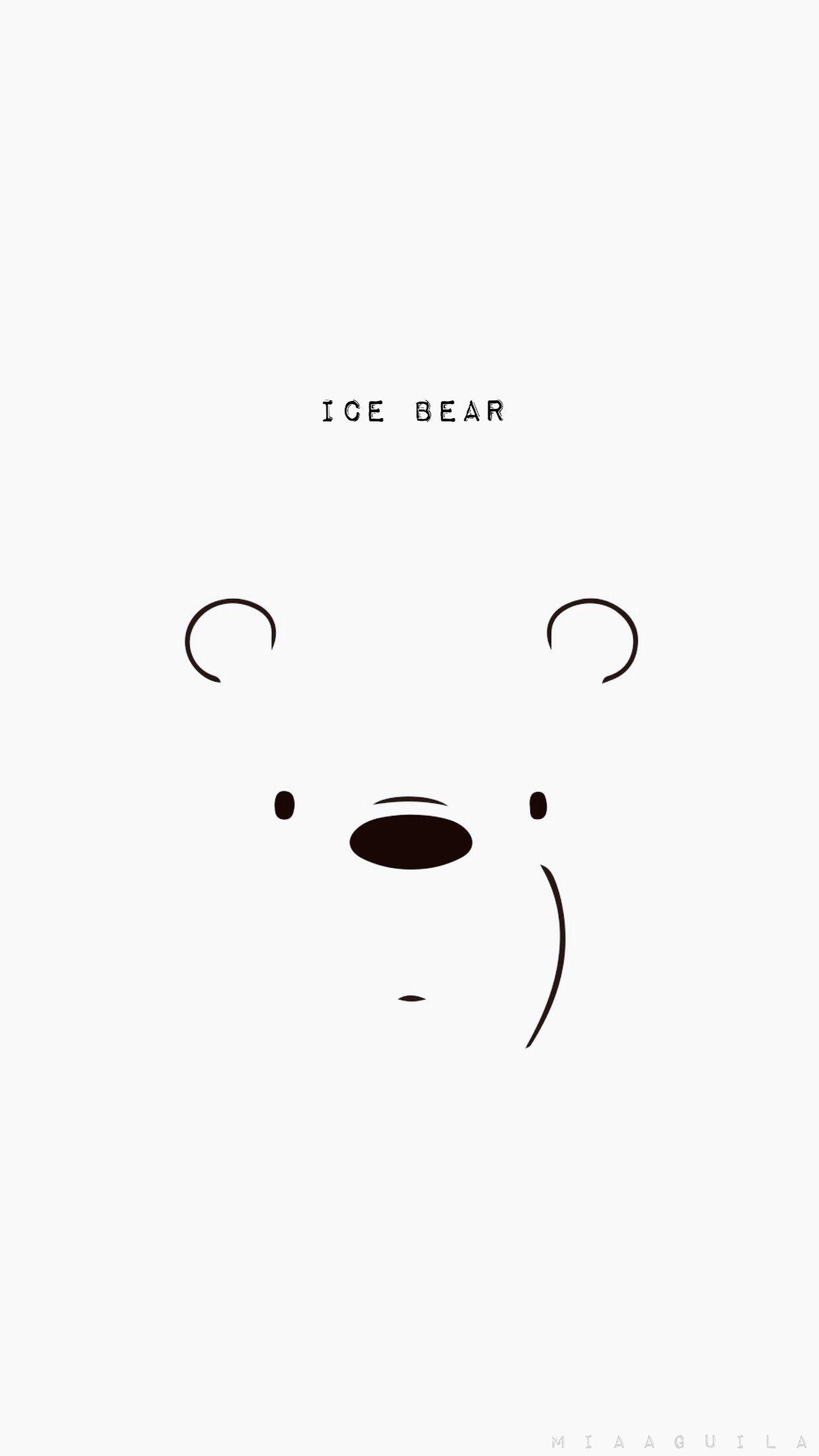 Ozihaki Wallpaper Hd New Panda We Bare Bears Wallpaper Black Background We Bare Bears Wallpapers Ice Bear We Bare Bears Bear Wallpaper