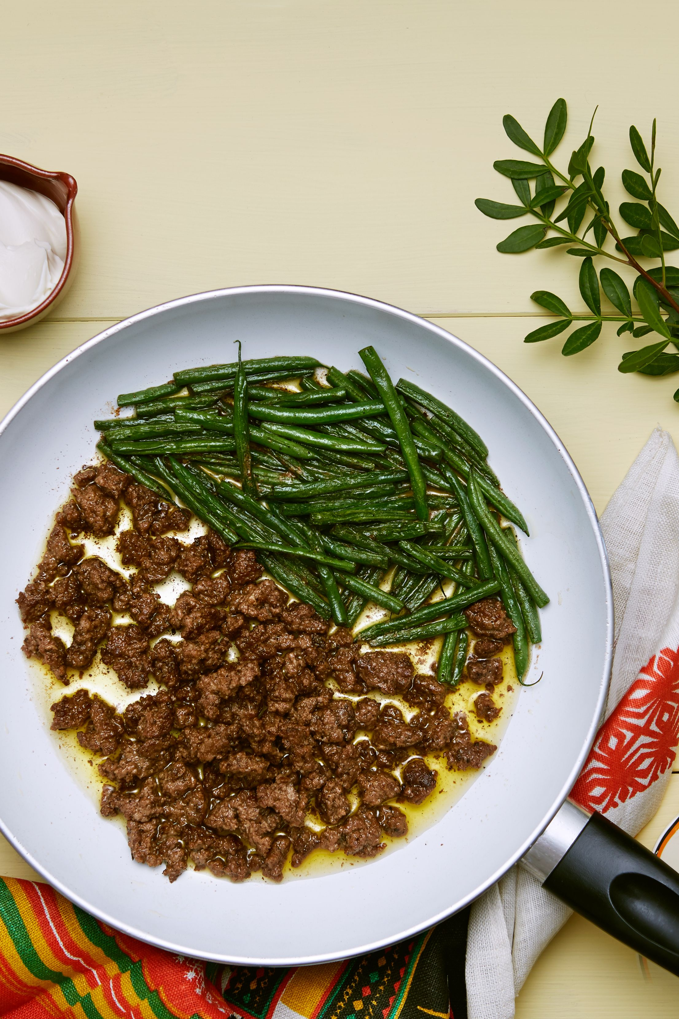 Keto Ground Beef And Green Beans Recipe Diet Doctor Recipe Beef And Green Beans Recipe Green Bean Recipes Bean Recipes
