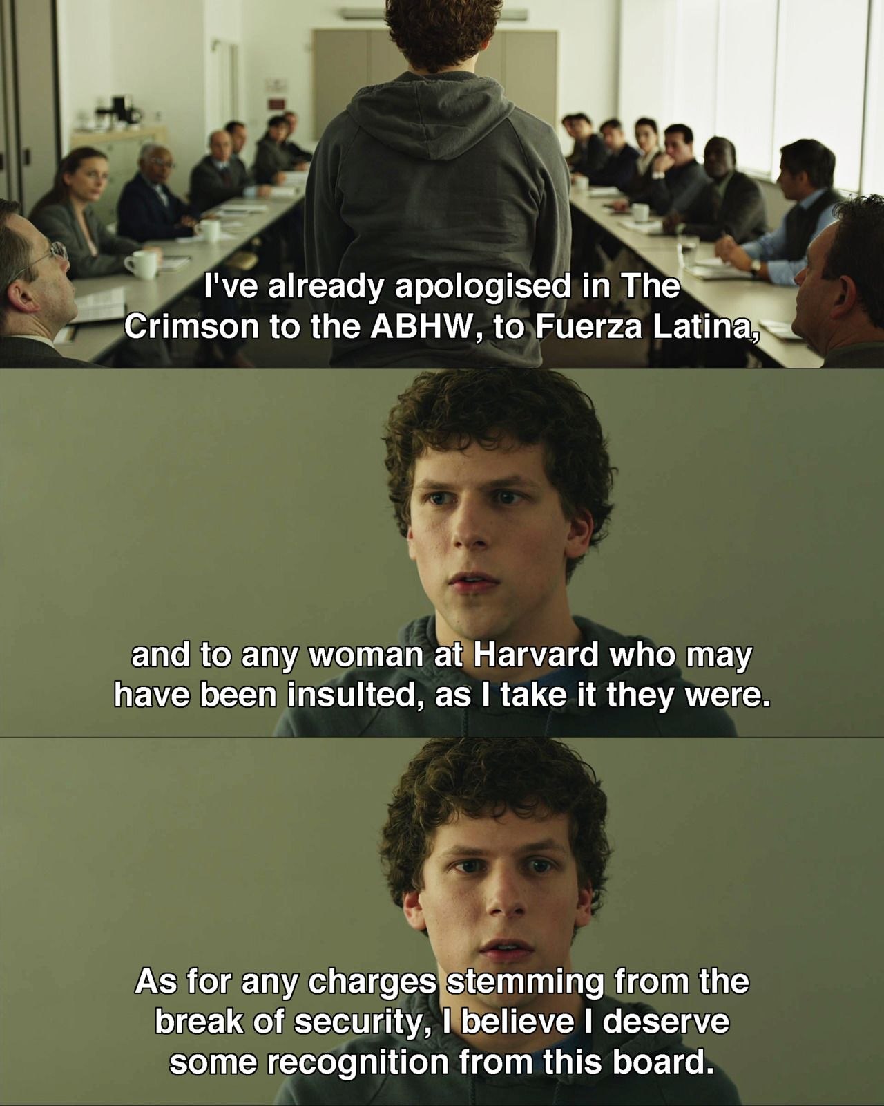 The Social Network 2010 Movie Quote Movies How To Cite A From Harvard Style