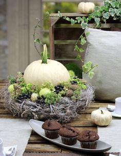 Herbstdeko | Schöner Wohnen | Wohnzimmerideen | Wohnzimmer |  Einrichtungsideen | Wohnideen | Wohndesign | Luxus Nice Design