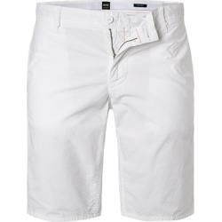 Photo of Boss men's shorts, regular fit, cotton, white Hugo Bosshugo Boss