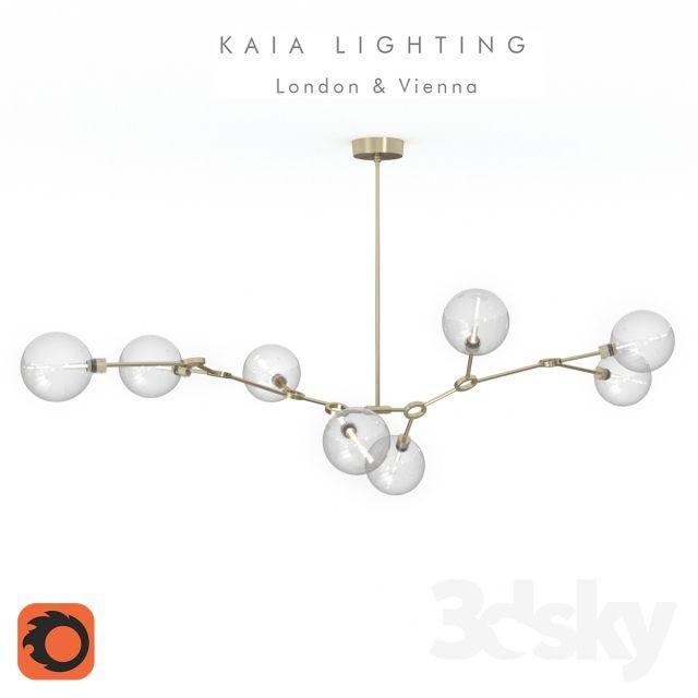 Kaia Lighting Ora Chandelier | 3dsMax // Lighting | Pinterest ...