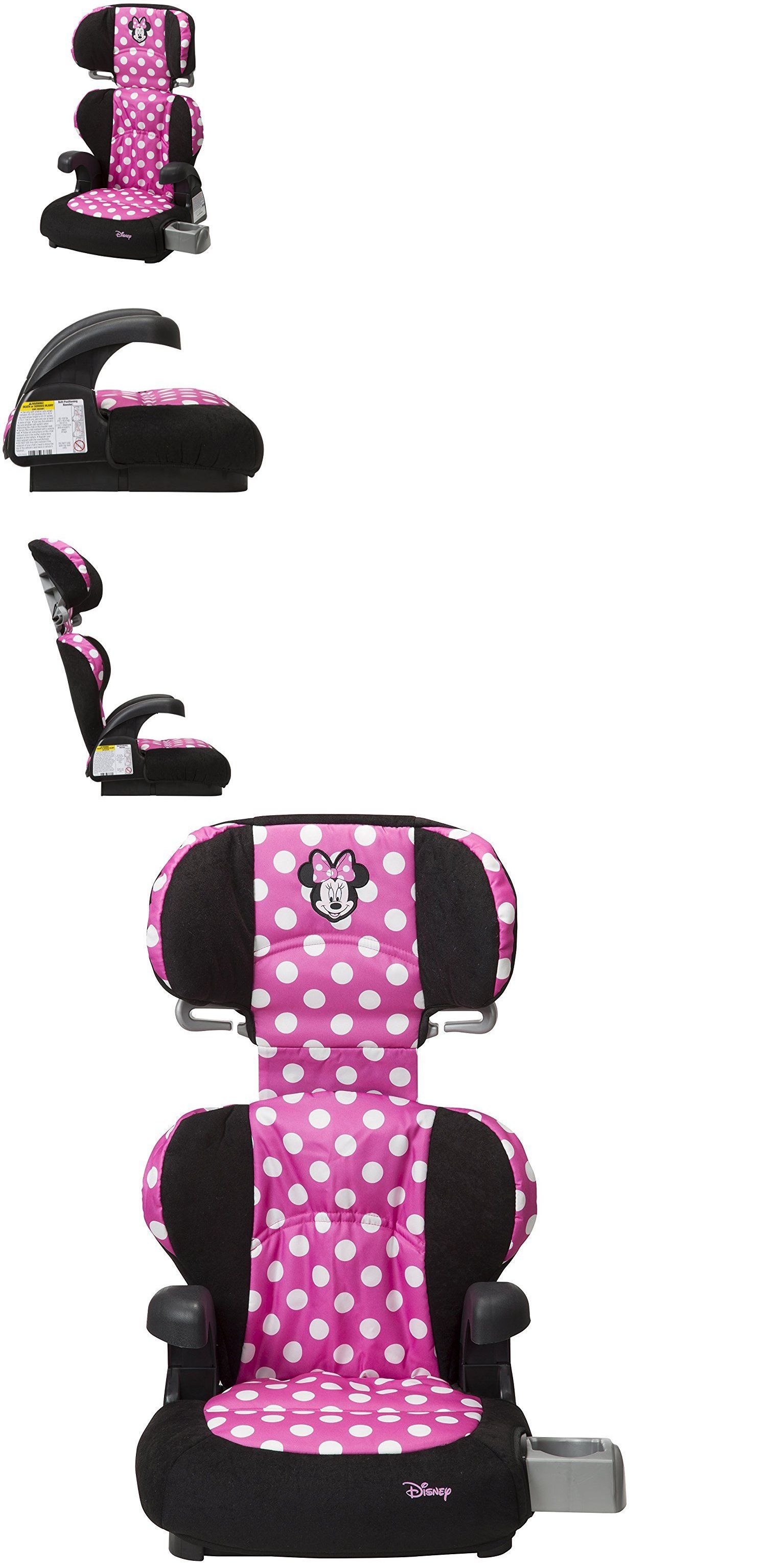 Convertible Car Seat 5 40lbs 66695 Backless Booster Removable Back Minnie Mouse Cup Holders Head Rest Pink BUY IT NOW ONLY 4765 On EBay
