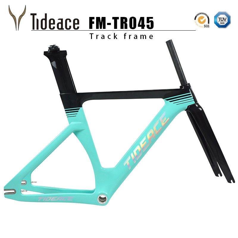 700C Carbon Fixed Gear Bicycle Frame T800 BSA Carbon Fiber Track ...
