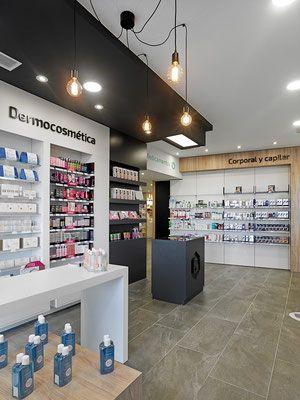 Farmacia Batallán - taller de farmacias. Diseño , proyectos y reformas de farmacias en Galicia, A Coruña, Pontevedra, Lugo, Orense.
