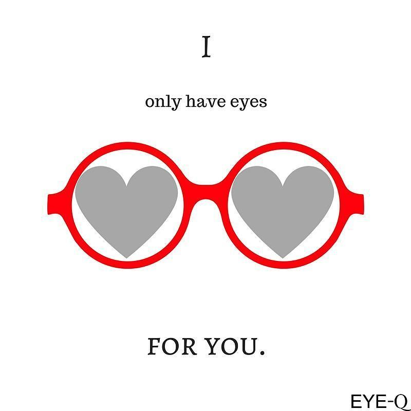 Happy Valentine S Day Optometry Humor Optician Marketing Eye