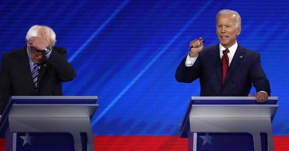 Joevotedforthewar Trends After Sanders Camp Fires Back At Biden S