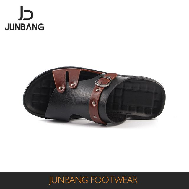 Source Man slipper funny outdoor indoor cheap wholesale man slipper summer  pu men sandals with many