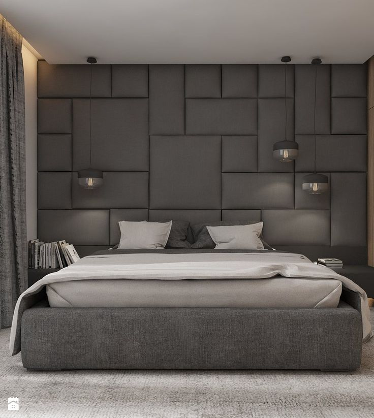 Wallpaper   Best Modern Bed Back Wall Design is free on ...