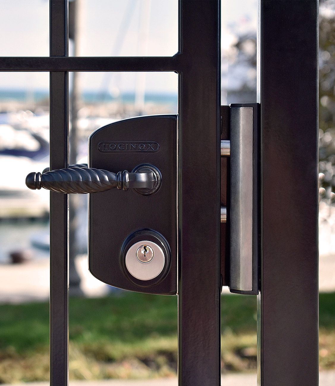 This Gate Lock Sure Is A Beauty Click The Link Below To Find Out More Gate Locks Driveway Gate Gate Latch