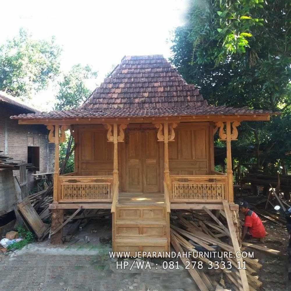 Rumah Kayu Jati Model Limasan Joglo Jawa Ukir Klasik Rumah Kayu Rumah Ide Dekorasi Rumah
