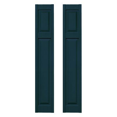 Builders Edge 12w In Cottage Style Raised Panel Vinyl Shutters Vinyl Shutters Builders Edge Cottage Style