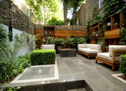 Design Inspiration Outdoor Spaces With Images Small City