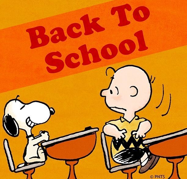 Image result for peanuts gang welcome back