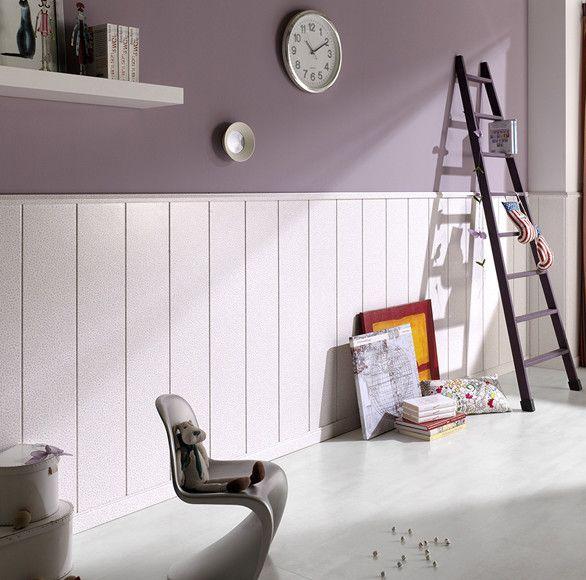 Cer micas y frisos 7 ideas para vestir tus paredes que te van a sorprender portal pinterest Paredes con friso