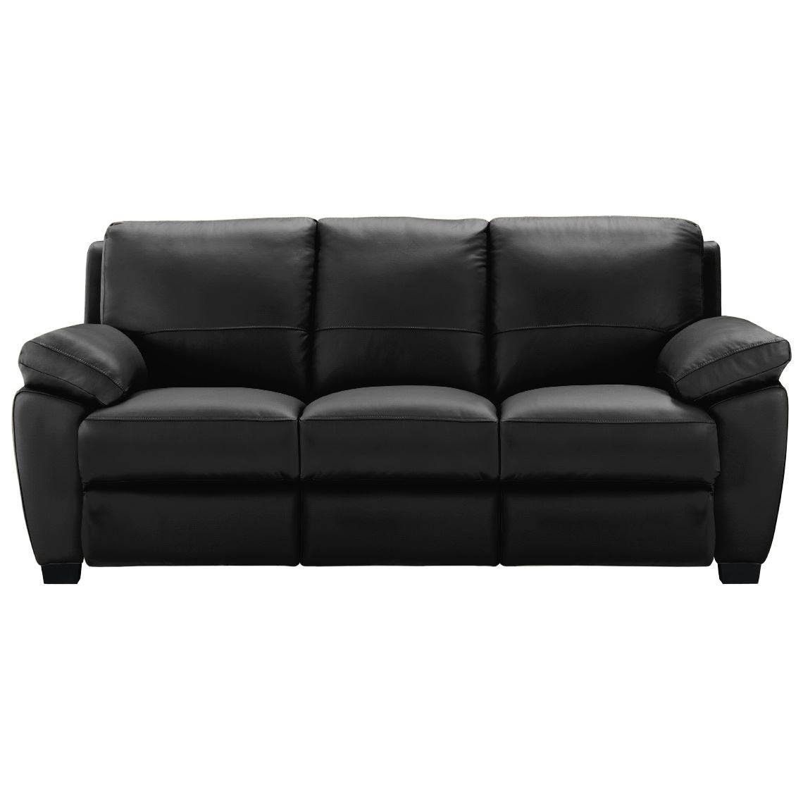 Lucas Recliner 3 Seat Leather Electric Recliner Sofa Licorice Leather Sofa Sofa Reclining Sofa