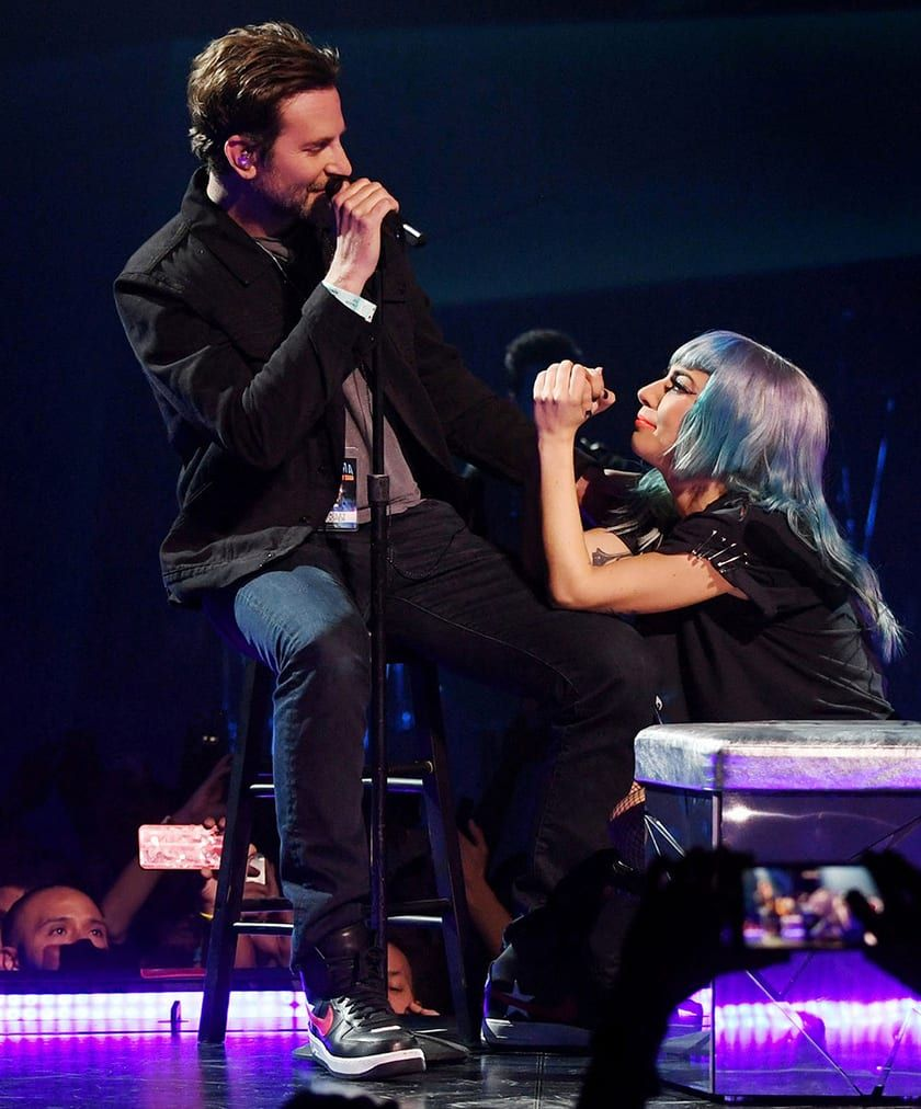 Lady Gaga stuns audience with surprise Bradley Cooper duet