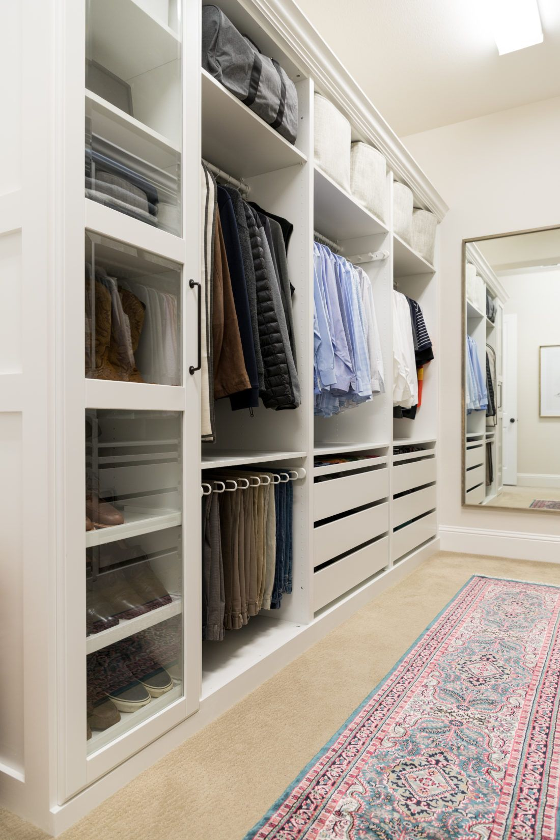 Walk In Closet Makeover With Ikea Pax Crazy Wonderful Ikea