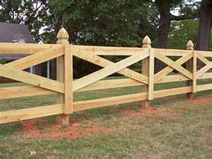 Ranch Rail Fences