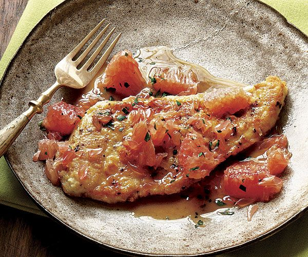 Pomelo Chicken Francese #finecooking