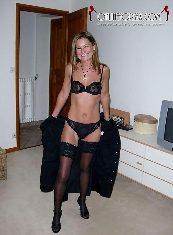 and bra Amateur panties milf