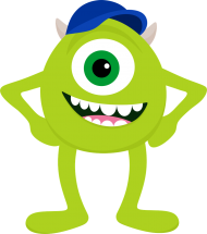 Alien Png Images Png Image With Transparent Background Png Free Png Images Monster Inc Party Monster Inc Birthday Monsters Ink