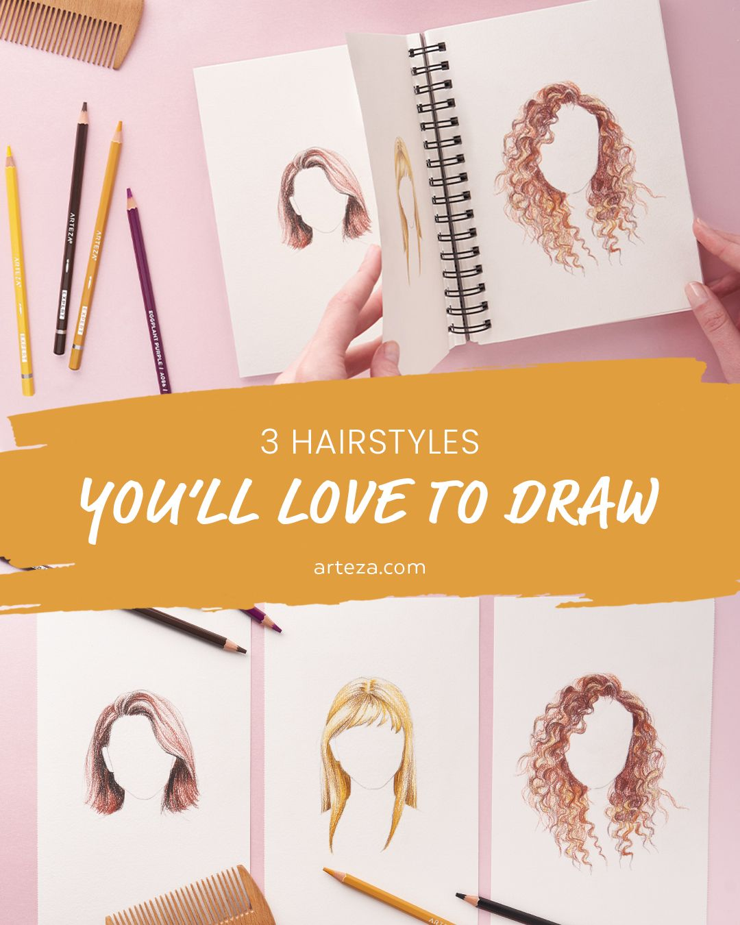 11+ 3 Hairstyles You'll Love To Draw Images