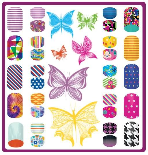 New 2014 spring/summer mommy & me designs. www.whitneyroyster.jamberrynails.net