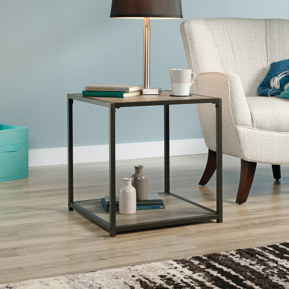 Free 2 Day Shipping Buy Mainstays Metro Side Table Grey Oak At Walmart Com Side Table Living Table Living Room Table [ 1000 x 1000 Pixel ]