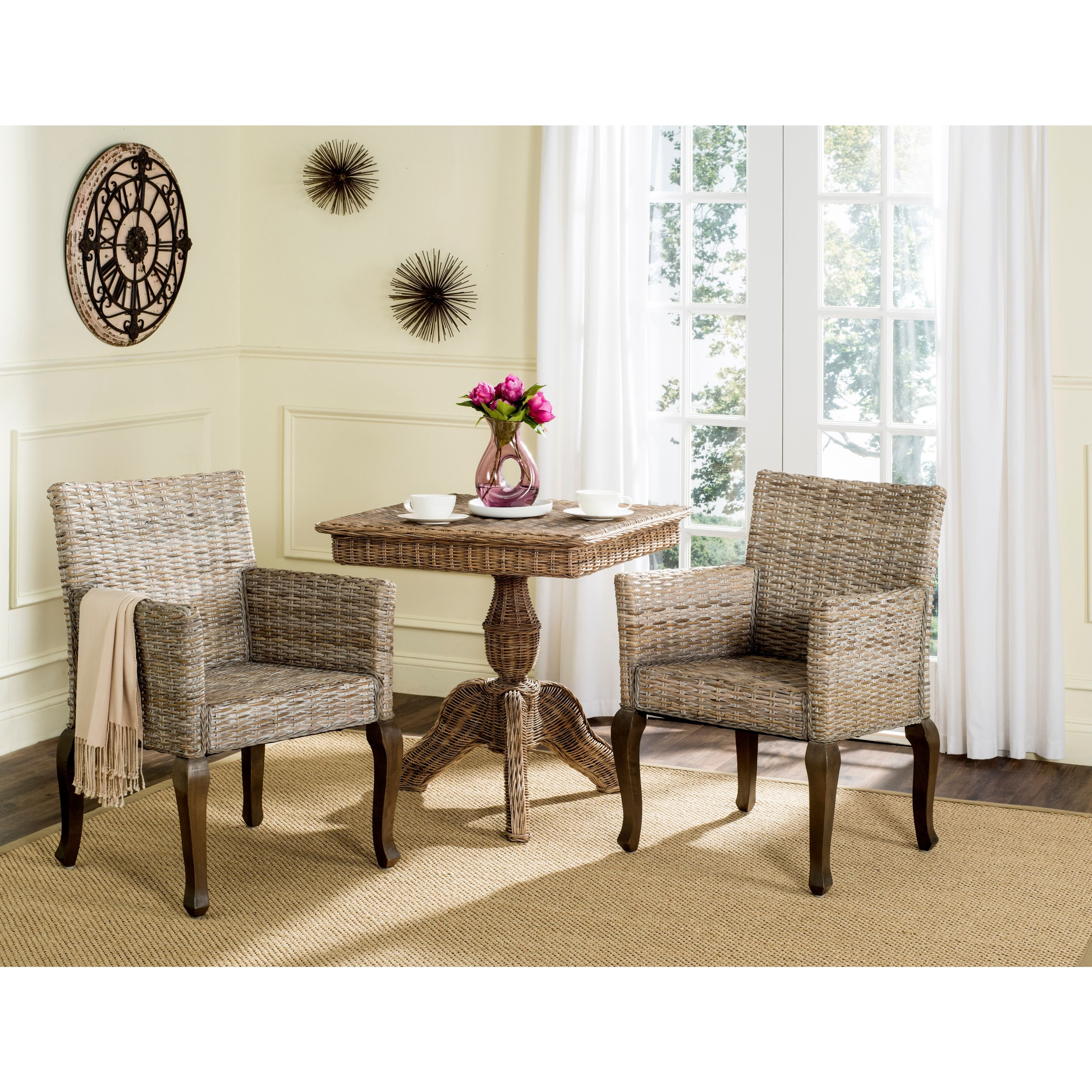Safavieh Rural Woven Dining Armando Washed Side Chairs