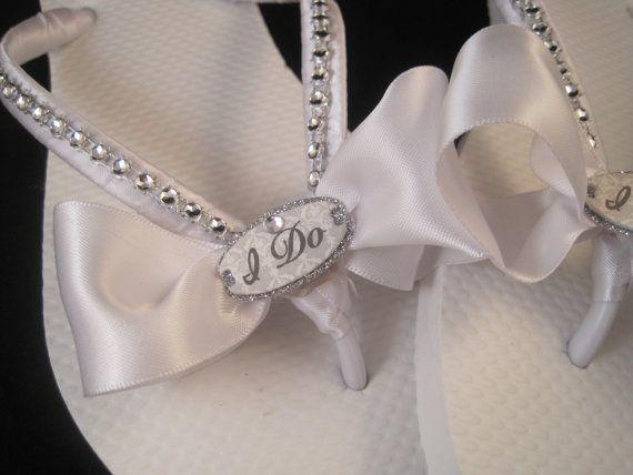 Bridal Flip Flops On Pinterest