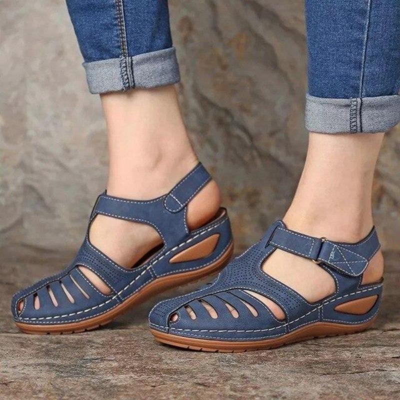 SendyEnjoy™ – Sandales ergonomiques et confortables en cuir pour femme