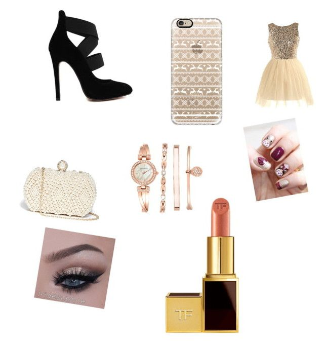 """""""Untitled #32"""" by leticiaafonso-b on Polyvore featuring GUESS, Casetify, Anne Klein and Tom Ford"""