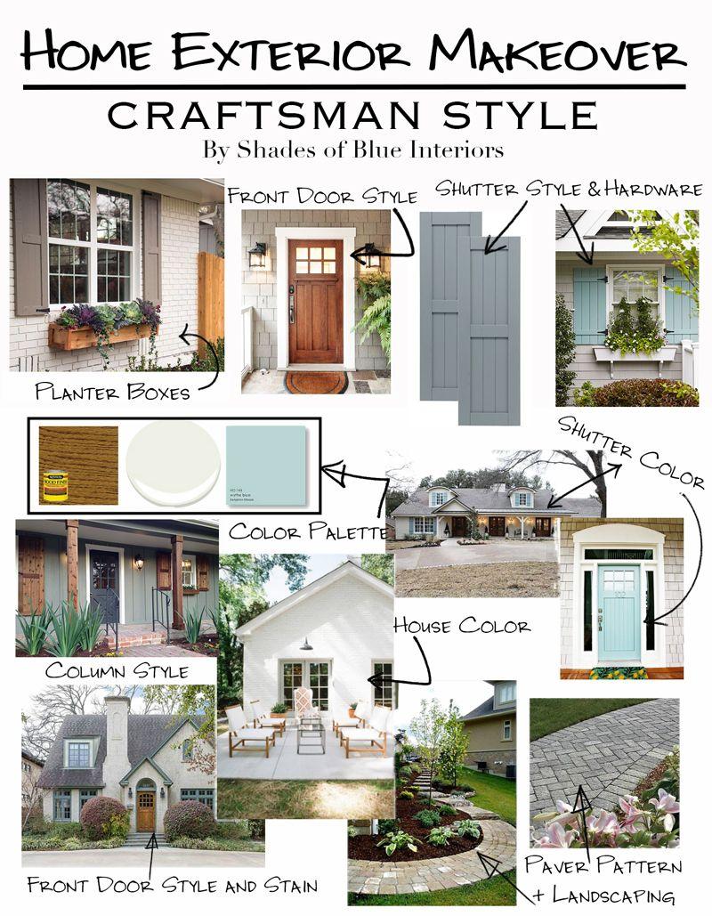 Home Exterior Makeover Plans | Pinterest | Exterior makeover ...