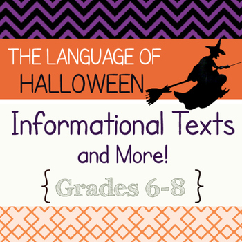 Halloween History Informational Texts Reading Passages