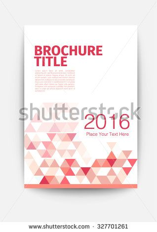 Brochure Template Design Layout Purple Red Flyer Template Red