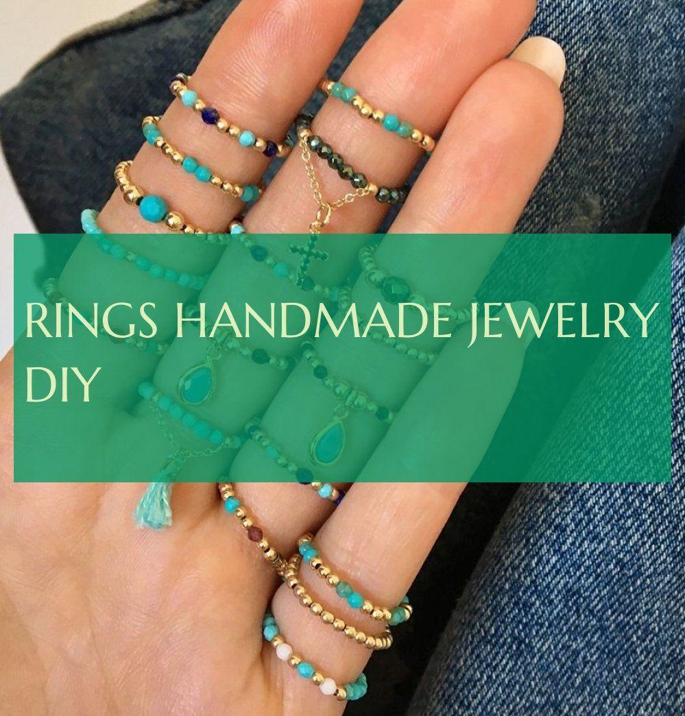 Rings handmade jewelry diy