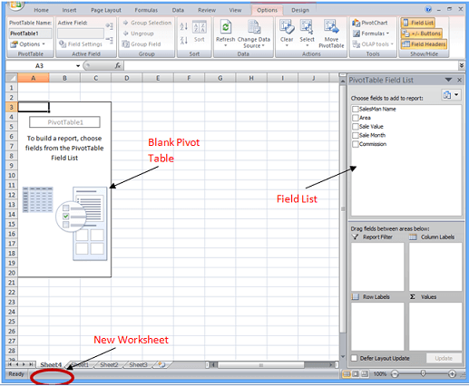 How To Create A Simple Pivot Table In Ms Excel Pivot Table Excel Pivot Table Excel