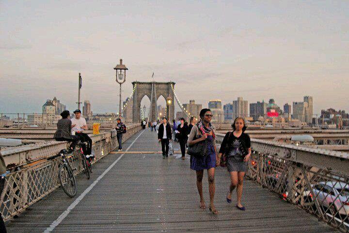 Fotografia ©Josemartom puente de broocklyn LOVE!
