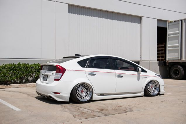 Something Diffe Stanced Toyota Prius