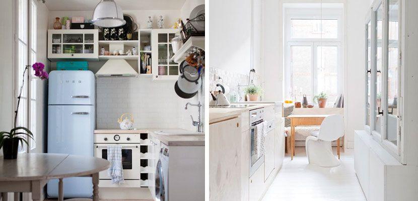 Cocinas muy peque as pero con estilo cocinas muy for Cocinas muy pequenas