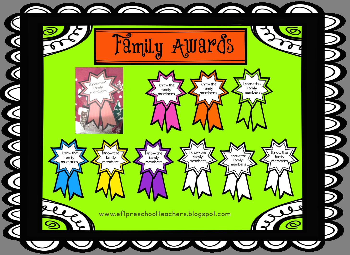 Family Theme For Esl