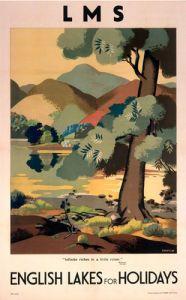 Vintage LNER Ullswater Lake District Poster A4//A3//A2//A1 Print